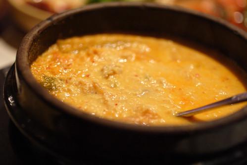 spicy tofu stew