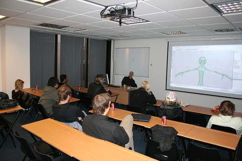 3D lecture for visiting Finnish students