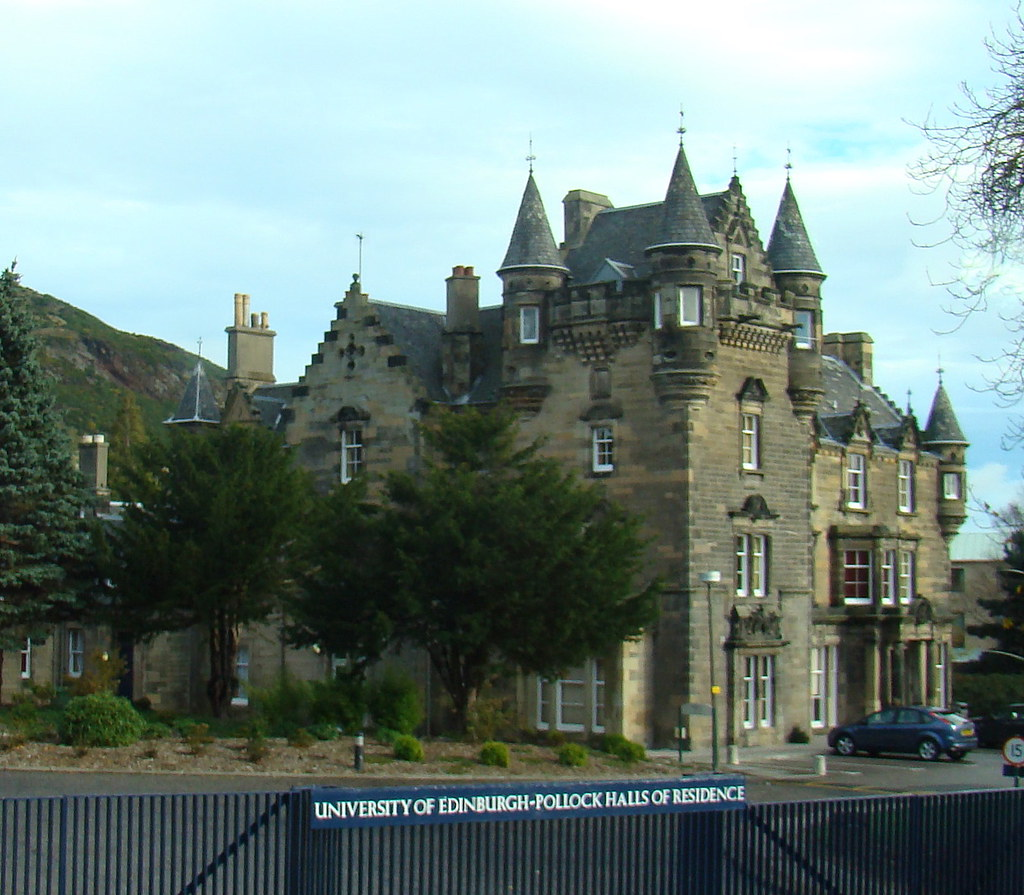 (ex?)-University of Edinburgh student housing