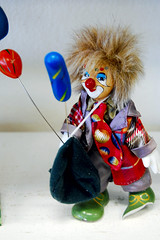 Lovably scary clown