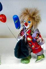 Lovably scary clown
