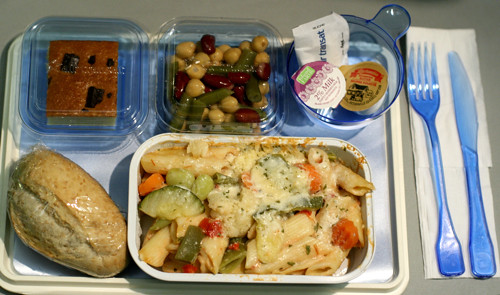 Airplane Food Is Not Sexy Mostly Lisa