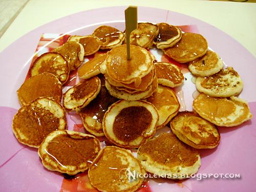 homemade dollar pancakes
