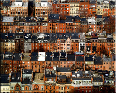Rowhouses (Jen Murray (tollerSCREAM)) Tags: city boston massachusetts aerial neighborhood backbay brownstones utatafeature utataview