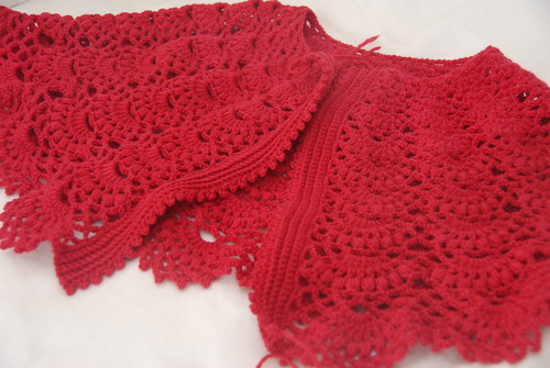 Red Capelet WIP
