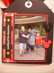 And 4... (JustScrappinHappy) Tags: scrapbooking magic disney hugs justdandy shessocrafty craftaday allthingsfun
