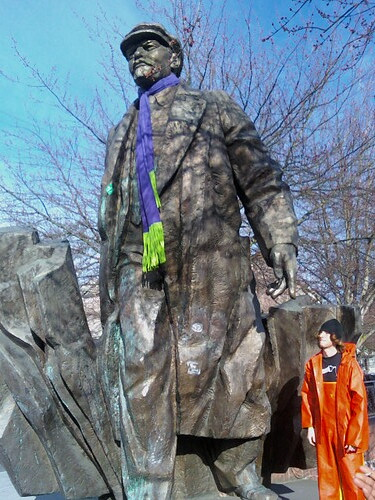My Dream Of Photographing Lenin With a Fisherman Has Been Realized