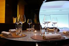 Grey restaurant...