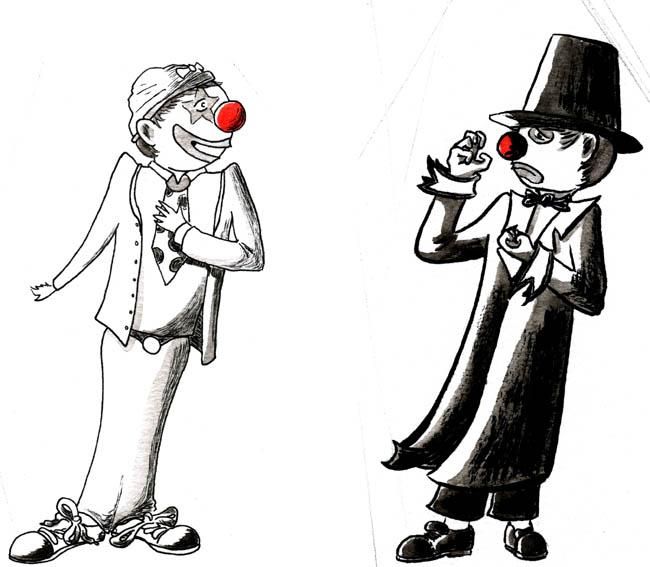Clown livre - clowns
