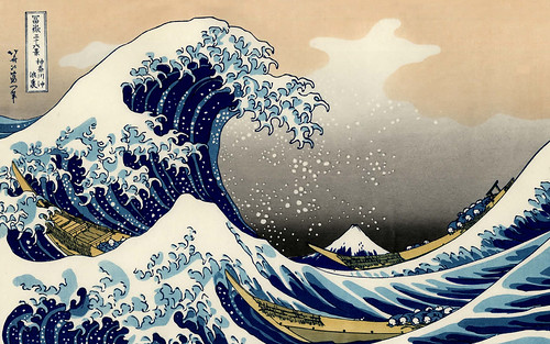 The Great Wave Off Kanagawa by