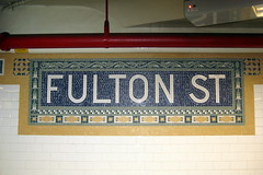 NYC: Fulton Street Subway Station