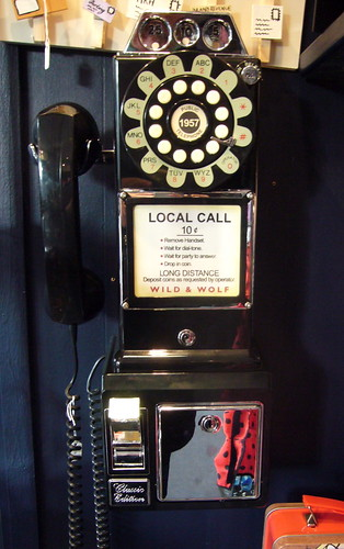 Old American Style Public Telephone