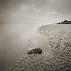 Impermanence (jasontheaker) Tags: uk sea mist landscape bravo peace been1of100 calm cumbria quicksand landscapephotography jasontheaker pprowinner