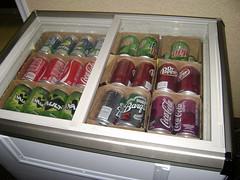 Soda cooler