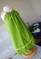 pillowcase dress for the other mannequin