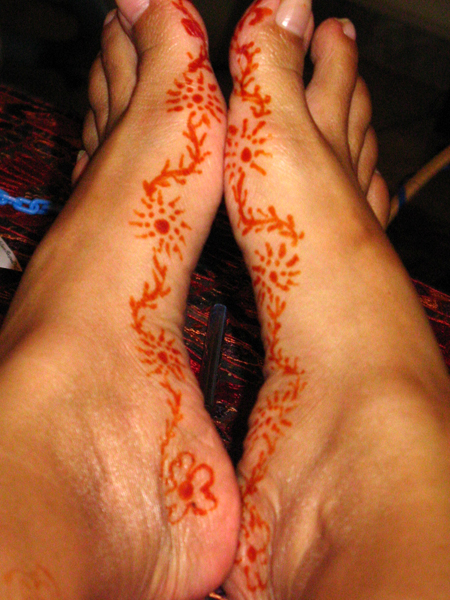 Henna - Mehndi Tattoos 1