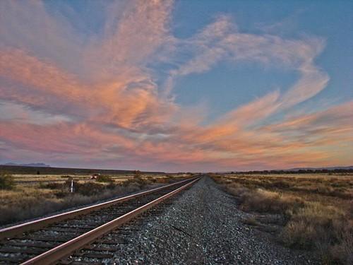Rails into dawn...2