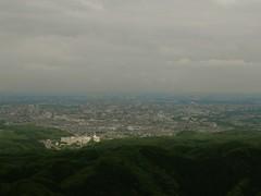 Hachioji (I think) from Mt Takao