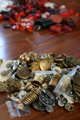 Buttons from Gramie's collection