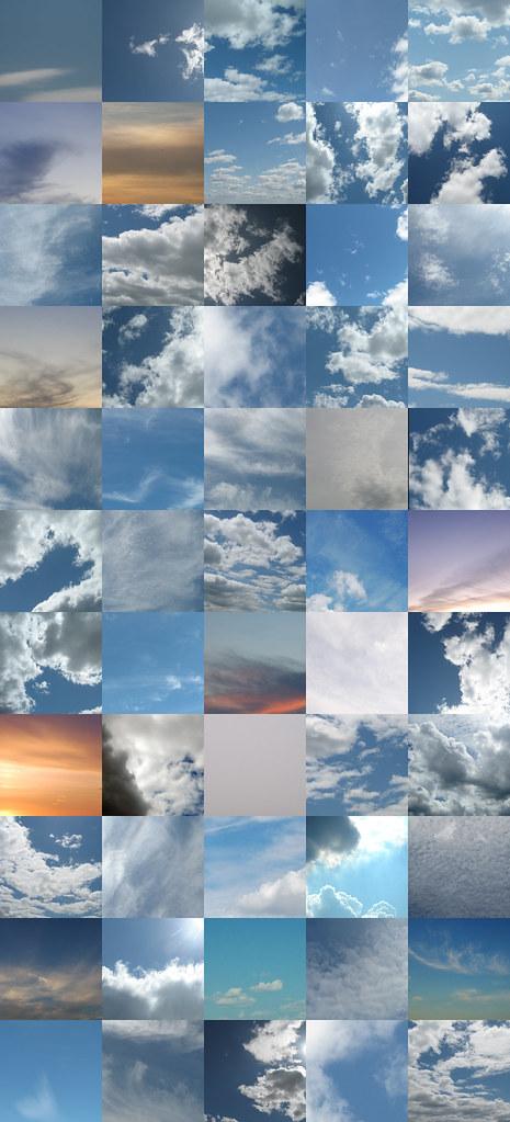 55 skies