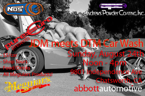 Pure Euro Presents Meguiars Jdm Meets Dtm Car Wash Andrews