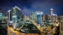 Bangkok 2017 (hpd-fotografy) Tags: bangkok sukhumvit thailand architecture city cityscape future longexposure night panorama skyline skyscraper traffic
