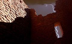 The Ruins (Donald Palansky Photography) Tags: sony alpha donaldpalansky lightning fineart night longexposure ruins arizona