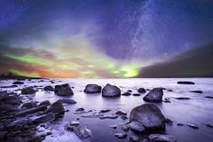 Wondering (Haapih) Tags: kokkola iisalmi suomi finland landscape winterwonderland aurora auroraborealis milkyway galaxy astrophotography nightphotography longexposure sea ocean clouds lonely scandinavia