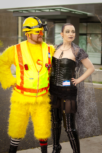 Safety Chicken and The WebMistress