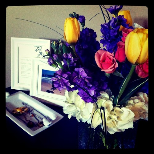 Mother's Day flowers from my boys :)