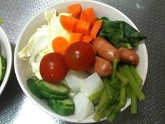 朝食サラダ(2011/5/23)