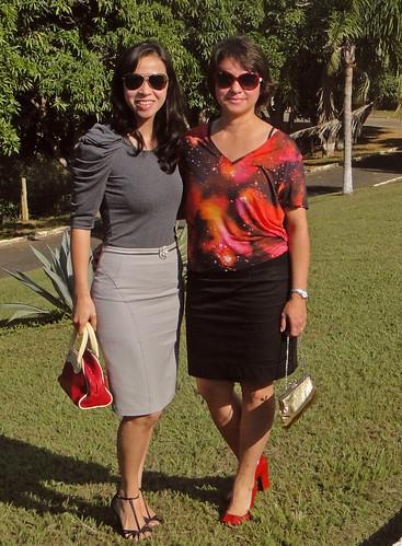 Irmã e eu