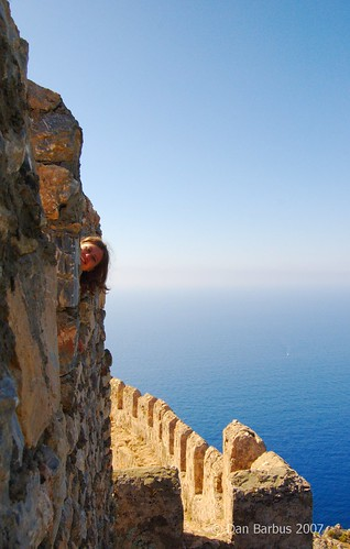 On top of Alanya Castle, Turkey