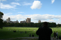 Central Park - 4 (jonoliver) Tags: nyc grass clouds centralpark manhattan cpw centralparkwest