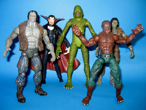 Marvel Legends Monsters with Universal Creature
