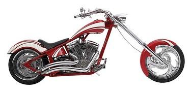 The Sunoco/OCC/Dale Earnhardt Jr. Custom Chopper