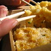 Mac'n'cheese... with chopsticks