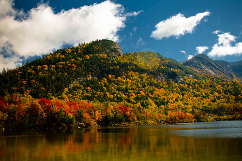 Echo Lake, Franconia Notch New Hampshire