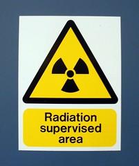 Radiation supervised area