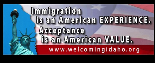 Immigration is an American Experience Acceptance is an American Value