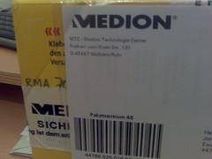 Päckchen von Medion