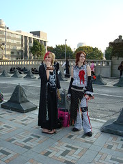 Punks should not smile as much (Catjerome) Tags: tokyo cosplay harajuku tokyoday07