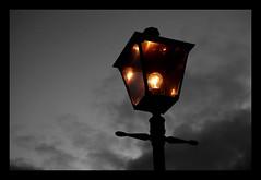 Street lamp (moorepictures) Tags: sky blackandwhite streetlamp simple smorgasbord cubism amazingtalent 10faves abigfave ibeauty zerofaves diamondclassphotographer flickrdiamond