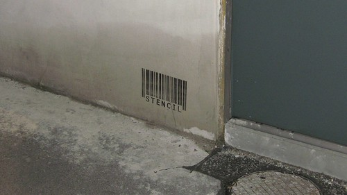 Stencil barcode