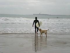Quizs (MaraJess) Tags: surf playa duna javi cdiz santamaradelmar