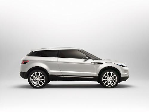 Фотографии Land Rover LRX Concept