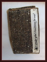 tweed notebook