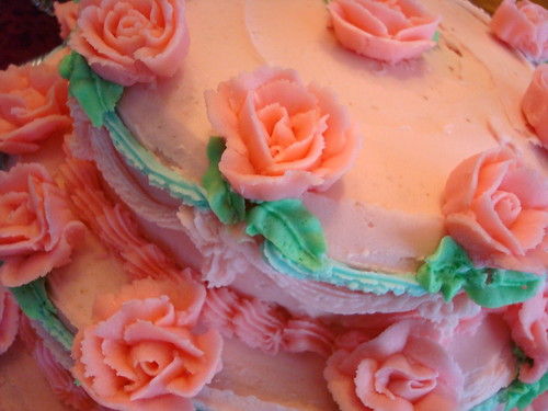 Closeup of Cake