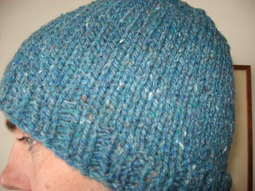 Rowan Chunky Tweed Hat!