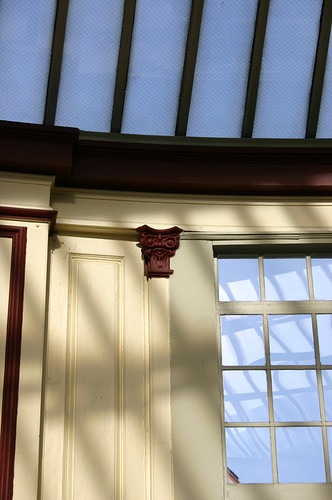 Detail, Conservatory Wall
